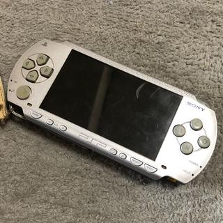 プレイステーションポータブル(PlayStation Portable)のPSP プレイステーションポータブル 本体 ジャンク品(携帯用ゲーム機本体)