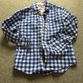 ボーデン(Boden)のmini boden ギンガムチェックシャツ120(ブラウス)