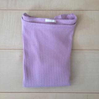 ジーユー(GU)のGU リブボートネックT(Tシャツ(半袖/袖なし))