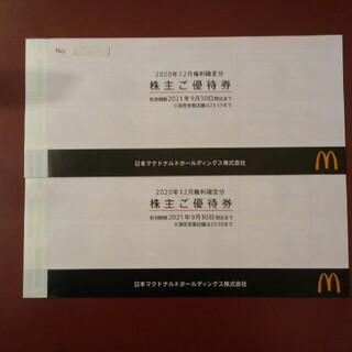 マクドナルド - 9000円→7920円✨マクドナルド株主優待券12シート分✨No.1