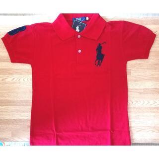 POLO RALPH LAUREN - ラルフローレン ポロシャツ 赤 130センチ