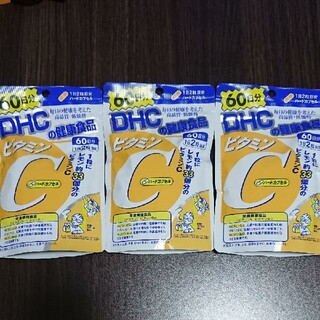 DHC - DHC ビタミンC 60日分×3袋