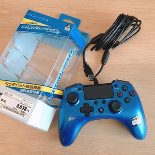 プレイステーション4(PlayStation4)のHORIPAD ホリパッドFPSプラス ブルー(その他)