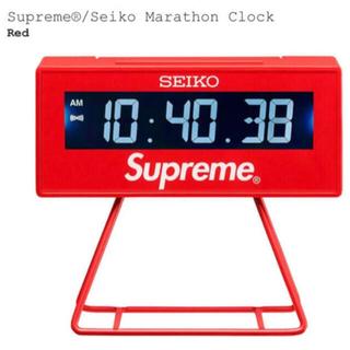 シュプリーム(Supreme)のSupreme/Seiko Marathon Clock  シュプリーム(置時計)