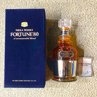 ニッカウヰスキー - 新品 ニッカウイスキー ウイスキー特級 FORTUNE'80 フォーチュン