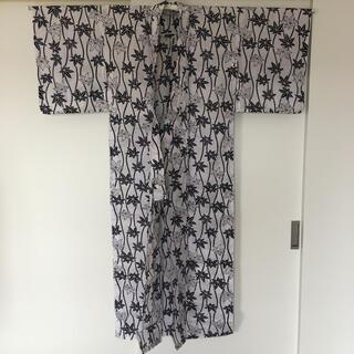 浴衣 ゆかた もみじ柄 昭和レトロ 未使用 綿100% 日本製(浴衣)