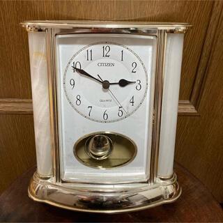 シチズン(CITIZEN)のリズム時計 シチズンラージュB 置時計 アナログ4RP753-005(置時計)