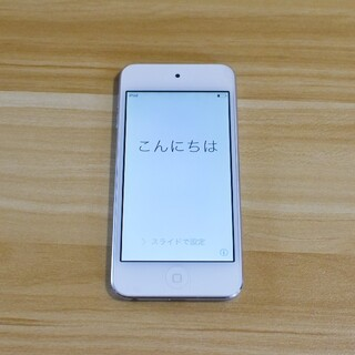 アイポッドタッチ(iPod touch)のApple iPod touch 64GB ホワイト&シルバー 第5世代(ポータブルプレーヤー)