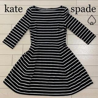 ケイトスペードニューヨーク(kate spade new york)のkate spade ♤ ワンピース(ミニワンピース)