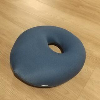 ムジルシリョウヒン(MUJI (無印良品))のMOGU ビーズクッション ブルー(ビーズソファ/クッションソファ)