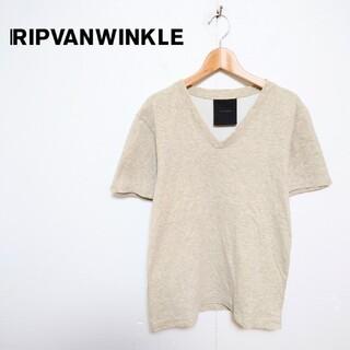 リップヴァンウィンクル(ripvanwinkle)のRIPVANWINKLE リップヴァンウィンクル VネックTシャツ(Tシャツ/カットソー(半袖/袖なし))