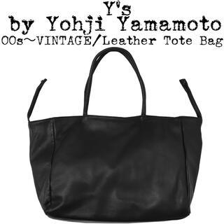 Yohji Yamamoto - 美品★Yohji Yamamoto★00s★オールド ヨウジ★レザートートバッグ