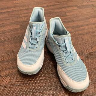 アディダス(adidas)のキッズ アディダス テニスシューズ 21cm(シューズ)