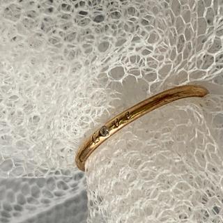 ジュピターゴールドレーベル(jupiter GOLD LABEL)のjupiter loveリング k10  3号 ピンキーリング ジュピター 梨花(リング(指輪))