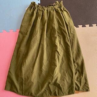 オリーブデオリーブ(OLIVEdesOLIVE)のリバーシブルスカート(ロングスカート)