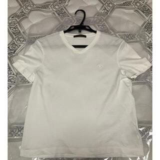 ルイヴィトン(LOUIS VUITTON)の⭐️極美品⭐️ルイヴィトンTシャツ⭐️2枚セット⭐️白⭐️紺⭐️(Tシャツ(半袖/袖なし))