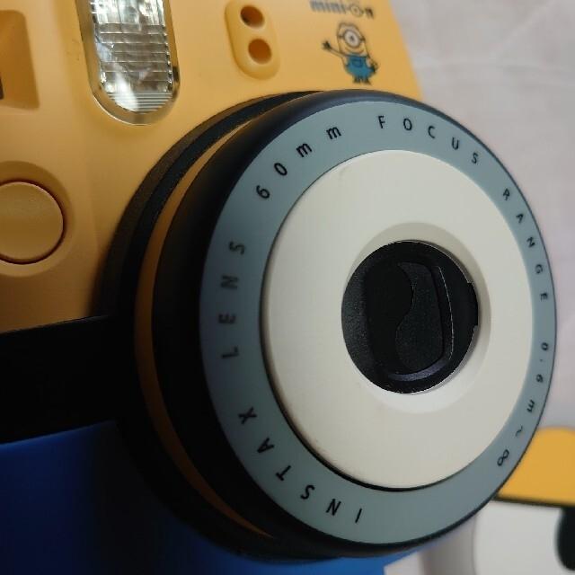 富士フイルム(フジフイルム)のinstax  ミニオン チェキ  富士フィルム スマホ/家電/カメラのカメラ(フィルムカメラ)の商品写真