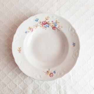 アラビア(ARABIA)の*old arabia ❀ decorated リム  plate(食器)