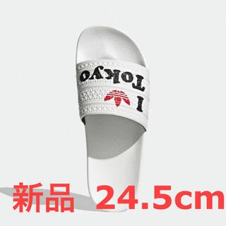 アディダス(adidas)のadidas アディレッタ 24.5cm 新品・未使用(サンダル)