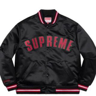 シュプリーム(Supreme)のsupreme Satin Varsity Jacket 21ss  M(スタジャン)