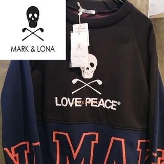 マークアンドロナ(MARK&LONA)の【新品2021年】MARK&LONAハイブリット ブラックアイパッチ ゴルフ(ウエア)
