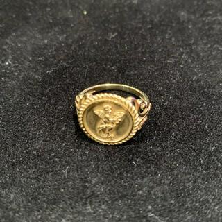 アヴァランチ(AVALANCHE)の10K イエローゴールド リング 13号(リング(指輪))