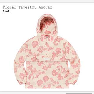 Supreme - L supreme Floral Tapestry Anorak Pink