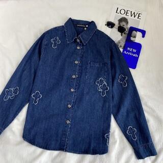 【Chrome Hearts】-104469(Gジャン/デニムジャケット)