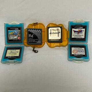 ニンテンドーDS(ニンテンドーDS)のDS DSi カセット セット売り(携帯用ゲーム機本体)