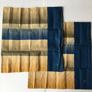 西川 - 座布団カバー 2枚組み 西川 Nishikawa 昭和レトロ 綿100% 日本製