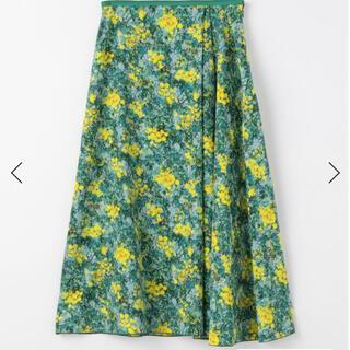 トゥモローランド(TOMORROWLAND)の2021ss購入 新品未使用 トゥモローランド スカート(ひざ丈スカート)