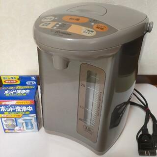 ゾウジルシ(象印)の象印 電気ポット cd-wh(電気ポット)