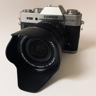 富士フイルム - FUJIFILM X-T20 XF18-55mmレンズ付き レンズキット