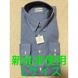 Lサイズ スーツセレクト ストライプシャツ