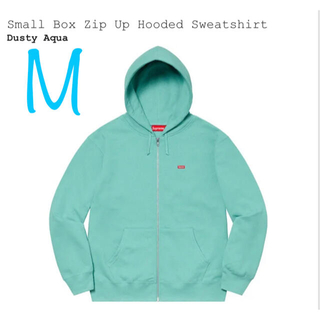 Supreme - Supreme Small Box Zip Hooded Sweatshirt