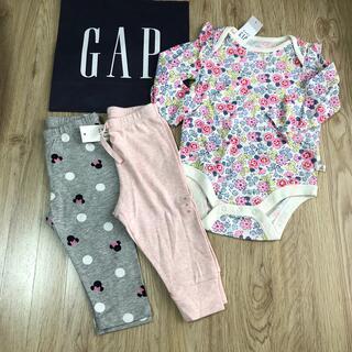 babyGAP - ベビーギャップ ギャップ 新品 パンツ ロンパース 長袖 70