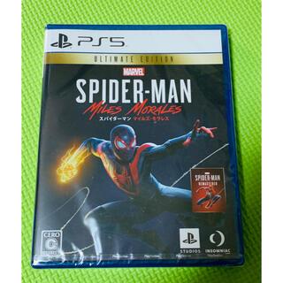 プレイステーション(PlayStation)の新品 PS5 スパイダーマン(家庭用ゲームソフト)