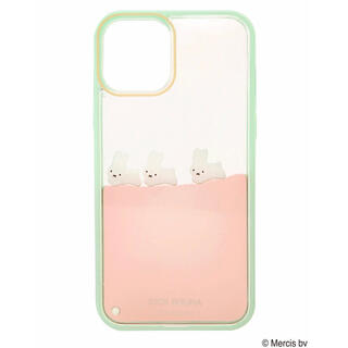 merry jenny - 【11 Pro】ぷかぷかうさぎiPhone case