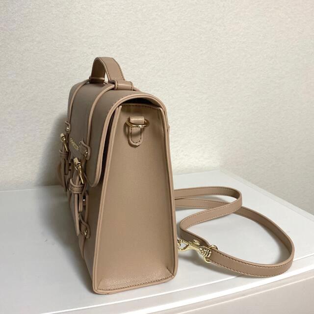Maison de FLEUR(メゾンドフルール)のMaison de FLEUR 2wayサッチェルバッグ レディースのバッグ(ショルダーバッグ)の商品写真