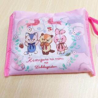 【新品タグ付】気まぐれな森の雑貨屋さん エコバッグ ピンク(エコバッグ)