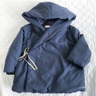 フーセンウサギ(Fusen-Usagi)のrichesse フード付き中綿ジャケット 80センチ(ジャケット/コート)