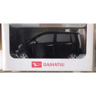 ダイハツ(ダイハツ)の人気 ダイハツ プルバックカー ムーヴカスタム 5代目 後期 ブラック 非売品(ミニカー)