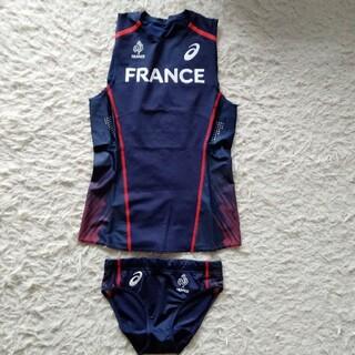 asics - 陸上競技 フランス代表公式ユニフォーム