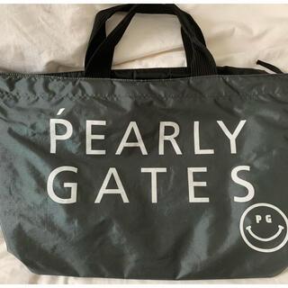 パーリーゲイツ(PEARLY GATES)のパーリーゲイツのトートバッグ(ダークグレー)(バッグ)