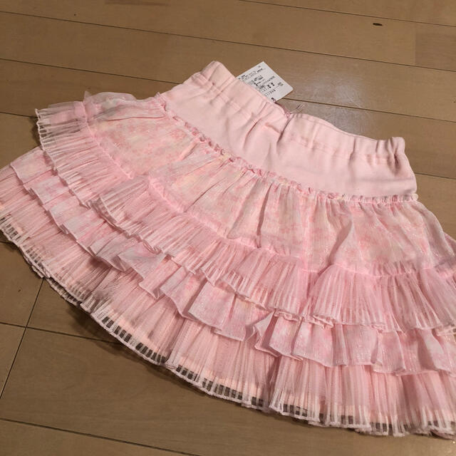 mezzo piano(メゾピアノ)のメゾピアノスカパン キッズ/ベビー/マタニティのキッズ服女の子用(90cm~)(スカート)の商品写真