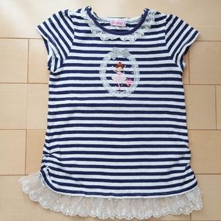 ミキハウス(mikihouse)のミキハウス リーナちゃん半袖 120(Tシャツ/カットソー)