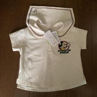 futafuta - フタフタ ミッキー セーラー 襟 レトロミッキー Tシャツ