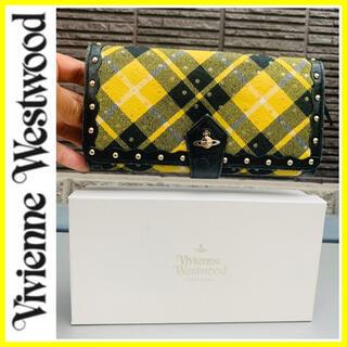 Vivienne Westwood - 限定■大丸梅田購入■ヴィヴィアンウエストウッド 長財布 チェック