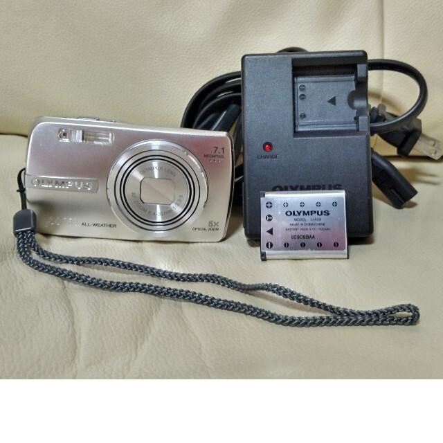 OLYMPUS(オリンパス)のOLYMPUS u750 スマホ/家電/カメラのカメラ(コンパクトデジタルカメラ)の商品写真