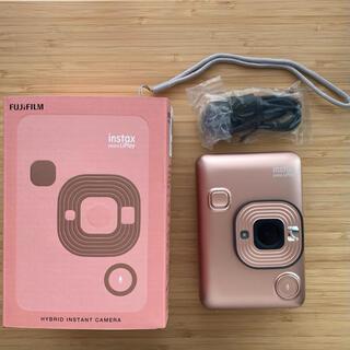 富士フイルム - FUJIFILM チェキインスタントカメラ instax mini LiPlay